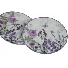 Dezertné taniere Lavender v ozdobnej krabičke