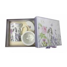Porcelánová šálka Lavender v ozdobnej krabičke